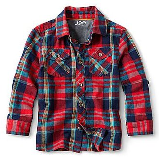 Joe Fresh Joe FreshTM Long-Sleeve Flannel Woven Shirt - Boys 1t-5t