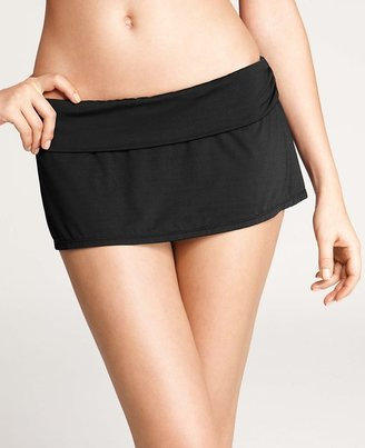 Ann Taylor Foldover Skirted Bikini Bottom
