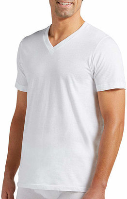 Jockey 2 Pair Classic V-Neck T-shirt - Big & Tall