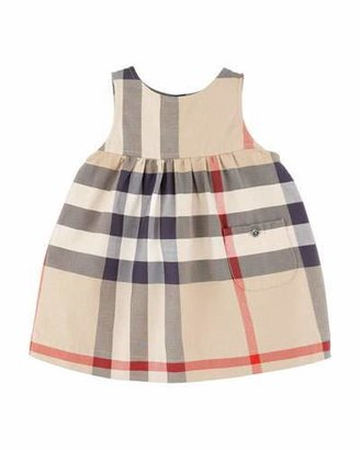 Burberry Della Check Sleeveless Jumper, 6-18 Months $150 thestylecure.com