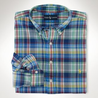 Polo Ralph Lauren Big & Tall Classic-Fit Plaid Sport Shirt