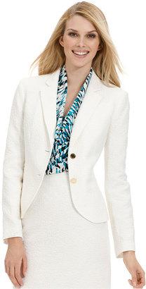 Calvin Klein Jacket, Pebble-Textured Blazer
