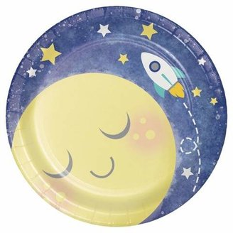 8ct To the Moon and Back Dessert Plates