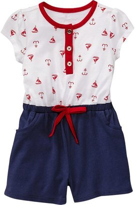 Old Navy Nautical Rompers for Baby
