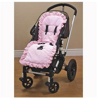 Baby Doll Bedding Heavenly Soft Minky Stroller Covers - Pink