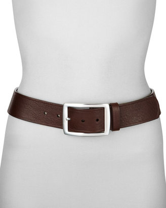 Neiman Marcus Leather Belt, 1 3/4