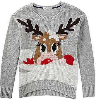 Jolt Reindeer Critter Sweater