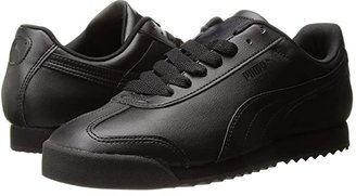 Puma Roma Basic (Black/Black) Men's Shoes