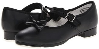 Capezio Mary Jane - 3800C (Toddler/Little Kid) (Black Leather) Girls Shoes