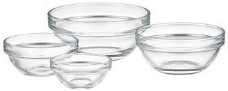 """Crate & Barrel Glass 2.75"""" Bowl"""