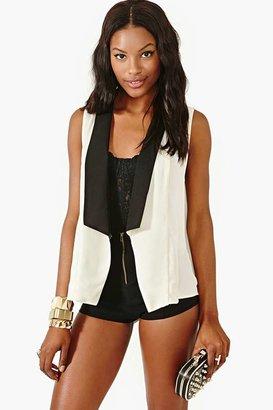 Nasty Gal Femme Tux Vest