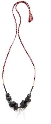 Lizzie Fortunato Silver Amulet Necklace II