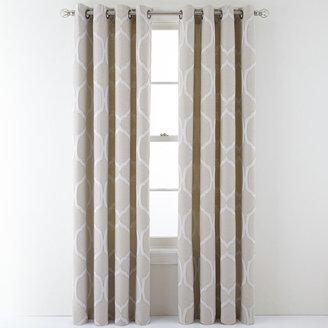 Martha Stewart MarthaWindowTM Turning Point Grommet-Top Curtain Panel
