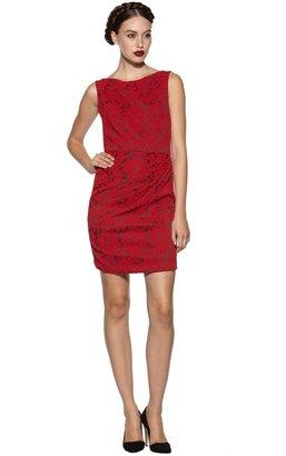 Alice + Olivia Adalaide Side Pleat Fitted Dress