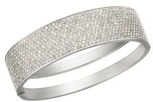 Swarovski Stone Crystal Bangle Bracelet