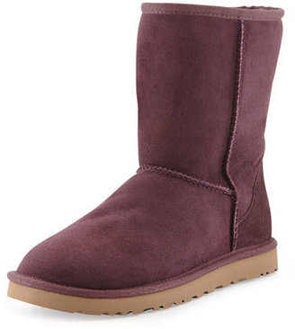 UGG Classic Short Boot, Dark Purple $130 thestylecure.com