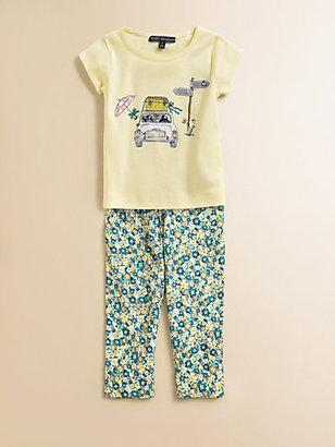 Lili Gaufrette Toddler's & Little Girl's Cotton Car Tee