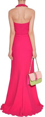 Valentino Fuchsia Braid Embellished Gown