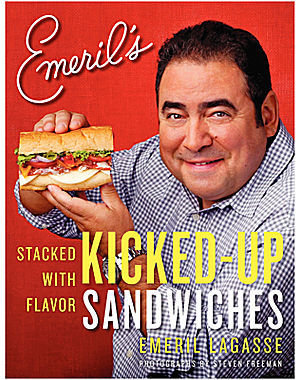 JCPenney Emeril's Kicked-Up Sandwiches: Stacked with Flavor