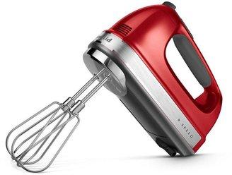 KitchenAid 9-Speed Hand Mixer, Candy Apple Red