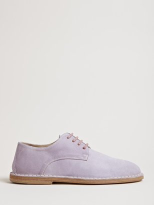 Ann Demeulemeester Women's Leather Derby Shoes