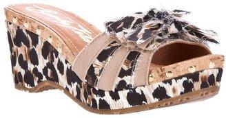 Beverly Feldman wedge sandal