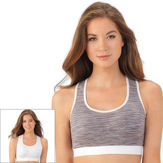 Lily of France Bra: Reversible Medium-Impact Sports Bra: 2151801