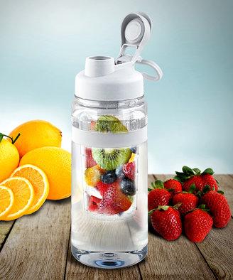 White Fruit-Infuser 32-Oz. Water Bottle