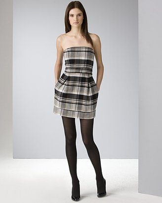 """French Connection Women's """"Jack"""" Check Tube Dress"""