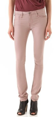 Helmut Lang Helmut Gloss Wash Skinny Jeans