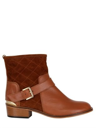 Emma.Go 40mm Lawrence Quilted Calfskin Boots
