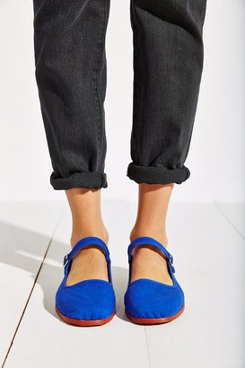 Urban Outfitters Overdyed Cotton Mary Jane