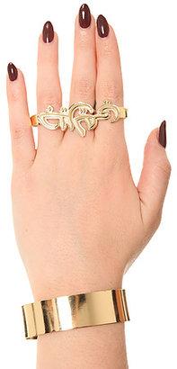 Jeremy Scott The Melody Ehsani x Farsi Nameplate Ring