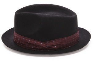 Paul Smith Classic Wool Trilby Hat