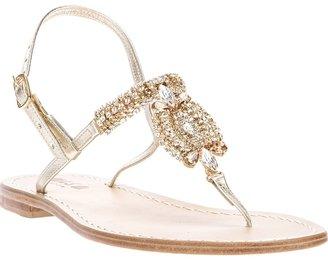 Musa crystal embellished sandal