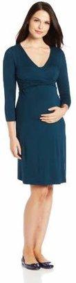 Ripe Maternity Women's Ballet Wrap Nursing Dress