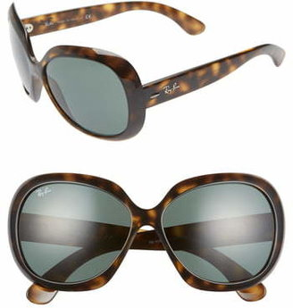 Ray-Ban 60mm Large Vintage Round Frame Sunglasses