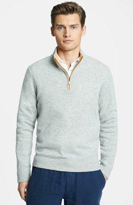 Vilebrequin Quarter Zip Cashmere Sweater