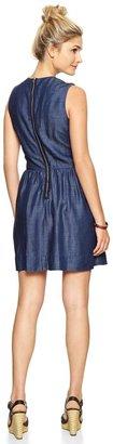 Gap Tencel® denim fit & flare dress