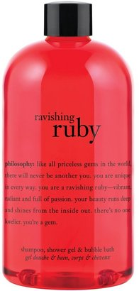 philosophy 'you're A Gem - Ravishing Ruby' Shampoo, Shower Gel & Bubble Bath