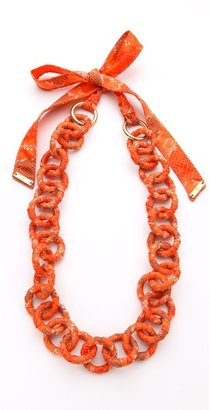 Tory Burch Pop Snake Necklace