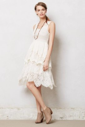 Anthropologie Lacefall Dress