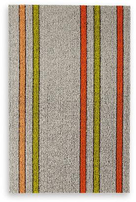 Chilewich Electric Stripe Orange Indoor/Outdoor Mat