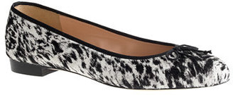 J.Crew Collection Kiki calf hair ballet flats