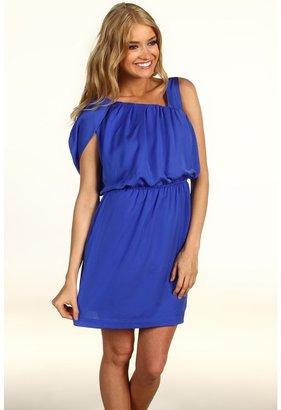BCBGeneration Side Wrap Dress (Lapis) - Apparel
