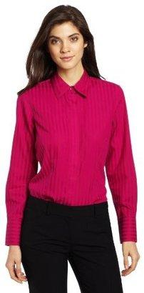 Foxcroft Women's Satin Stripe
