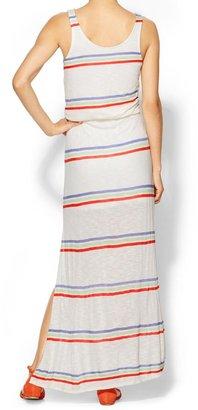 Splendid Hermosa Slub Stripe Maxi Dress