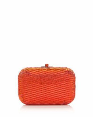 Judith Leiber Couture Crystal Slide-Lock Clutch Bag, Rose $1,995 thestylecure.com
