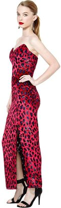 Nasty Gal Bob Mackie Sweetheart Dress