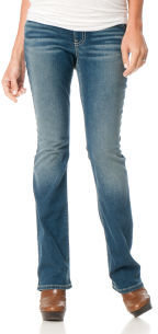 Motherhood Indigo Blue Secret Fit Belly® 5 Pocket Slim Boot Maternity Jeans
